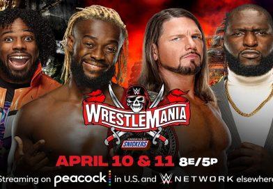WWE: Il New Day manifesta dei dubbi sulla vittoria di AJ Styles e Omos a WrestleMania 37