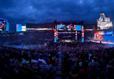 WWE: Molti fan hanno lasciato WrestleMania durante il Main Event della prima serata