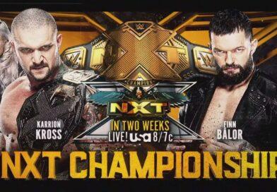 WWE: Finn Balor sfiderà Karrion Kross per il titolo di NXT