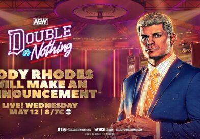 AEW: Risultati AEW Dynamite 12-05-2021 (grande annuncio di Cody su Double or Nothing)