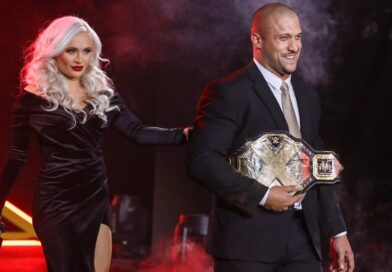 WWE: Karrion Kross e Scarlett presenti nel backstage di Smackdown