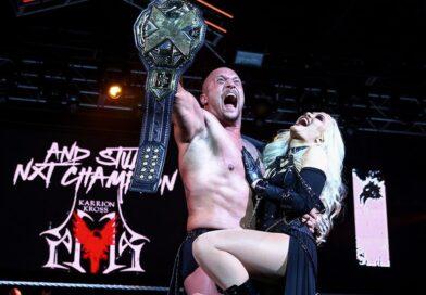 WWE: Svelato il motivo della presenza di Karrion Kross nel backstage di Smackdown