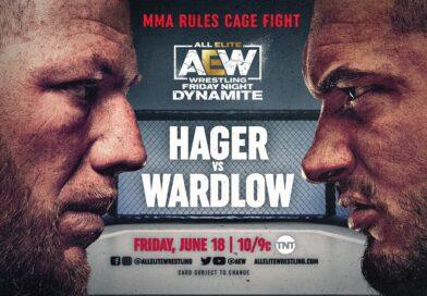 AEW: Risultati AEW Dynamite 18-06-2021 (MMA match Hager vs. Wardlow)