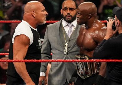 WWE: Bobby Lashley commenta la presenza di Goldberg a Raw