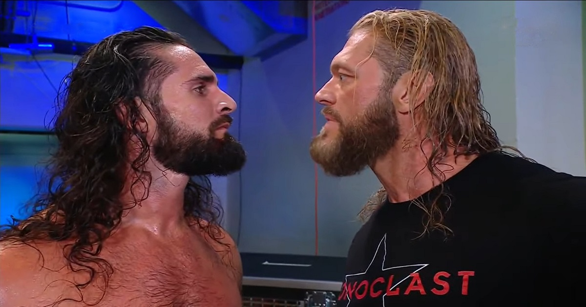 Seth Rollins - Edge Feud Is Now Official