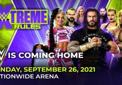 WWE: Card aggiornata (21 settembre) di Extreme Rules 2021