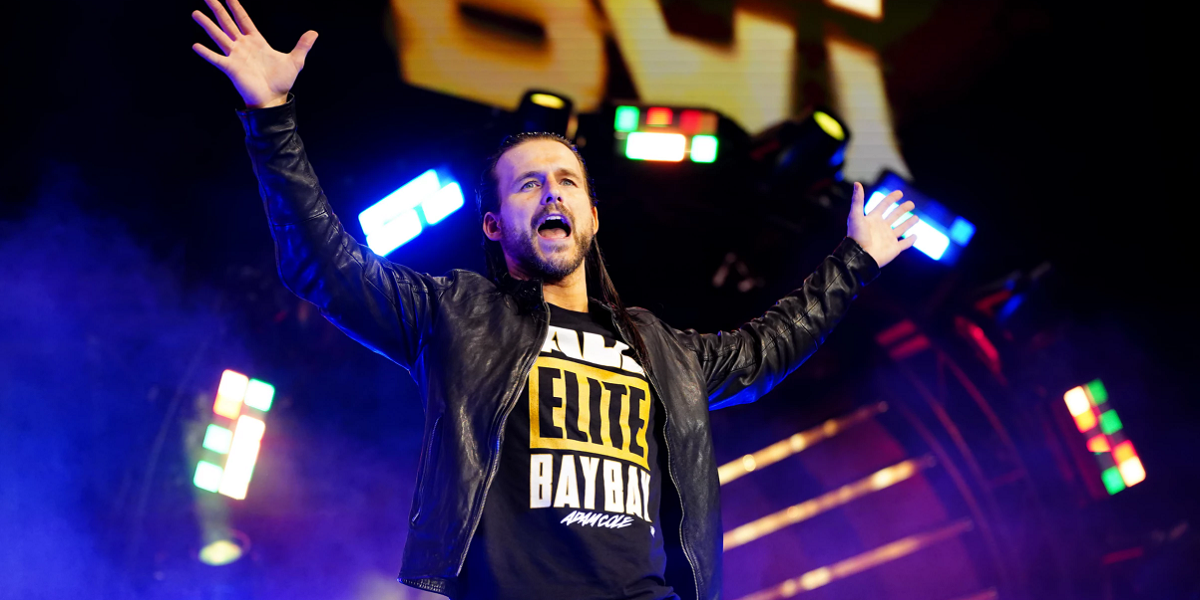 AEW: Adam Cole rivela alcuni divertenti retroscena del suo debutto