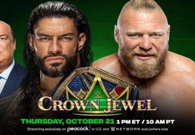 WWE CROWN JEWEL: Roman Reigns e Brock Lesnar danno spettacolo, ma il finale delude