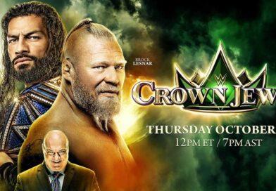 WWE: La federazione è felicissima di Crown Jewel 2021