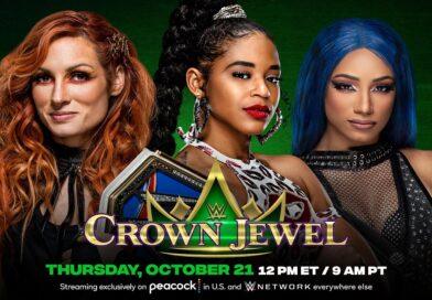 WWE CROWN JEWEL: Sasha Banks e Bianca Belair avranno portato via la cintura a Becky Lynch?
