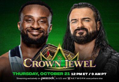 WWE CROWN JEWEL: Drew McIntyre al limite, ma Big E rimane campione