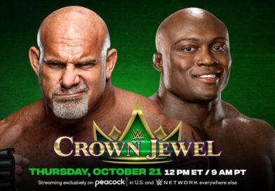 WWE CROWN JEWEL: Goldberg super ma sarà bastato per sconfiggere Bobby Lashley?