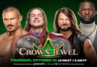 WWE CROWN JEWEL: Randy Orton e Riddle si sbarazzano di AJ Styles e Omos