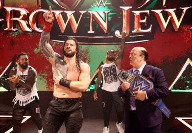 WWE: Roman Reigns risponde alla minaccia di Brock Lesnar